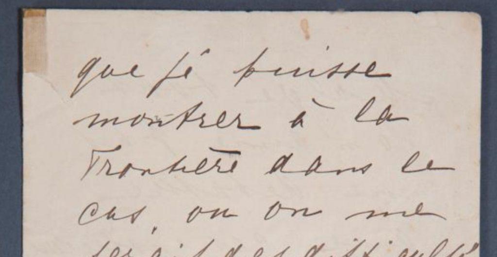 Subastarán una carta de la famosa espía neerlandesa Mata Hari