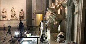 Utilizan bacterias para limpiar las Capillas de los Medici de Miguel Ángel en Florencia