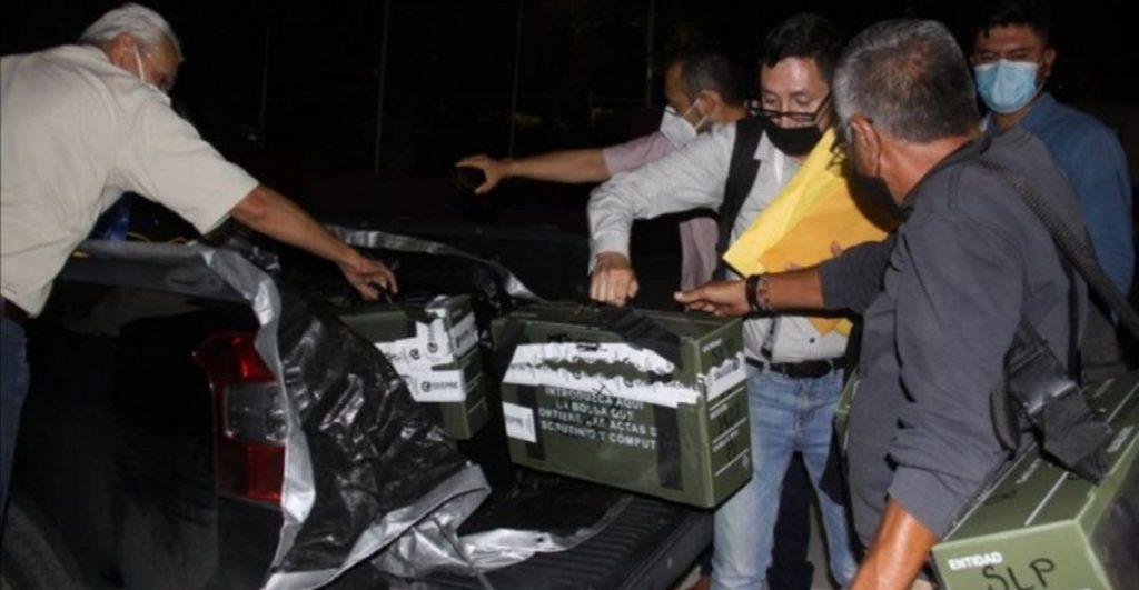 Recontarán el 74% de los paquetes de la elección a la gubernatura de San Luis Potosí