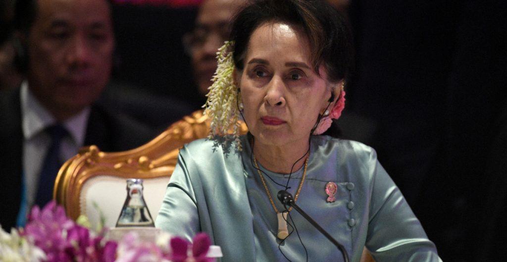 La junta militar de Birmania denuncia a Aung San Suu Kyi por corrupción