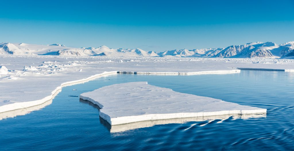 El hielo del Ártico disminuye el doble de rápido de lo previsto: ESA