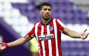Luis Suárez, en acción con el Atlético de Madrid. (Foto: Reuters).