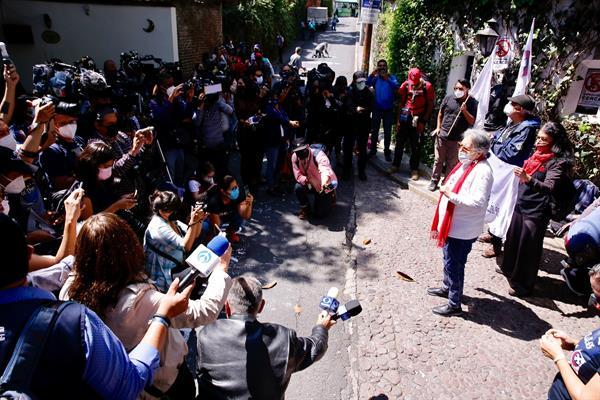 """""""Yo creo que AMLO es el heredero de Echeverría"""": Joel Ortega, ex líder estudiantil"""
