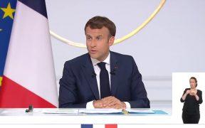 Macron advierte a Reino Unido que los términos del Brexit no son renegociables