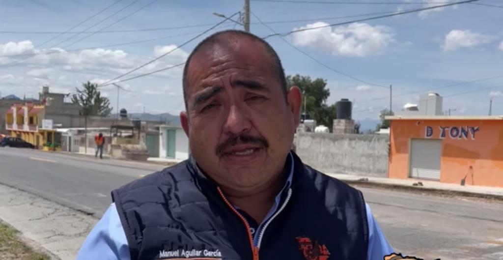 Asesinan a tiros a Manuel Aguilar García, presidente municipal de Zapotlán en Hidalgo