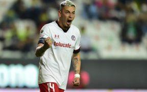 Rubens Sambueza seguirá un año como líder del Toluca. (Foto: Mexsport).