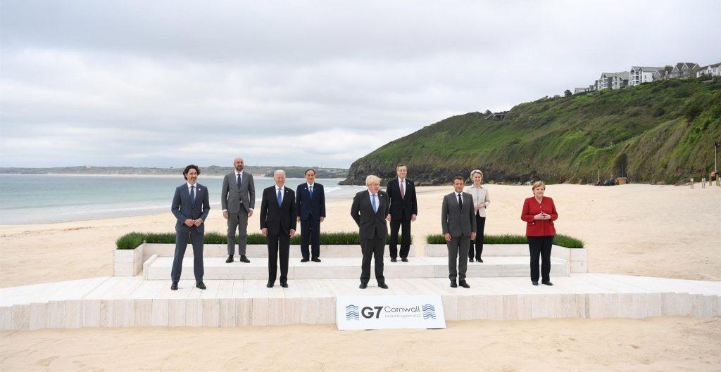 Líderes del G7 coinciden en mantener los estímulos fiscales para hacer frente a la crisis de la Covid-19