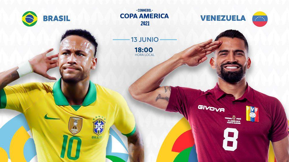 Neymar será la figura a seguir en la inauguración de la Copa América. (Foto: @CopaAmerica).