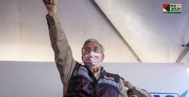 Rubén Rocha dijo que combatirá violencia en Sinaloa tras recibir constancia como gobernador electo