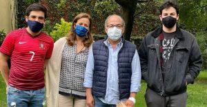 El expresidente de México, Felipe Calderón, se recupera de la Covid-19