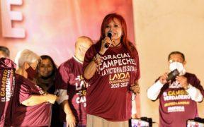 Layda Sansores recibe constancia de mayoría como gobernadora electa de Campeche