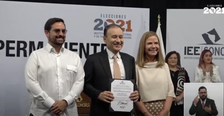 Alfonso Durazo se convierte en gobernador electo de Sonora