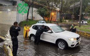 Lluvias provocan inundaciones y afectaciones en alcaldías de la CDMX