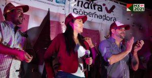 Indira Vizcaíno recibe la constancia como gobernadora electa de Colima