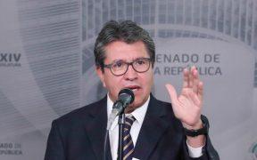 """Método de encuesta para elegir a candidatos está """"muy desgastado"""", critica Monreal tras anuncio de Delgado"""