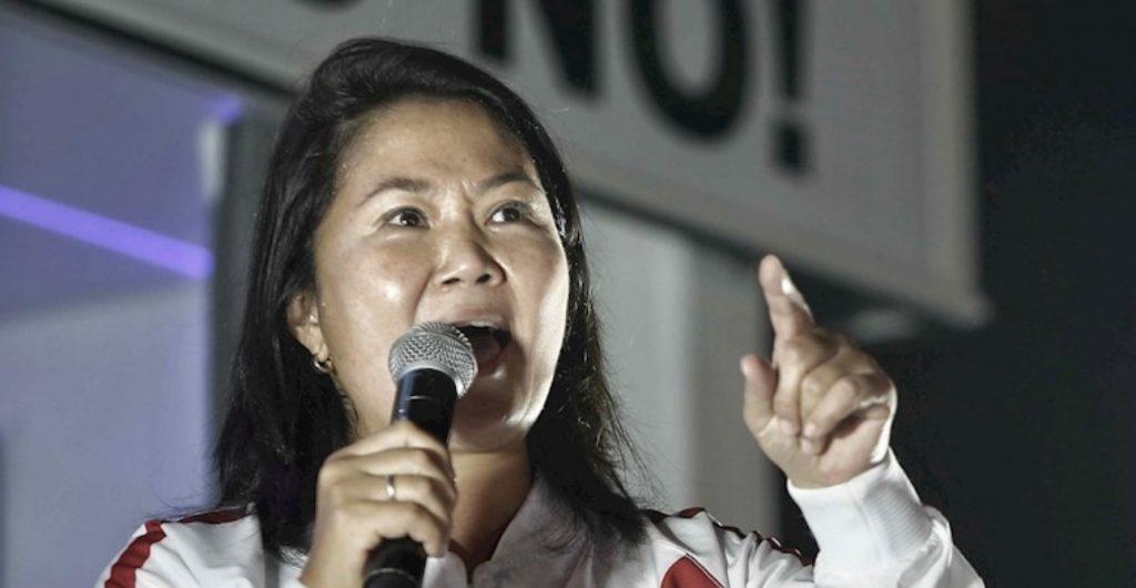 Keiko Fujimori pide auditoría sobre recuento de votos en elecciones de Perú