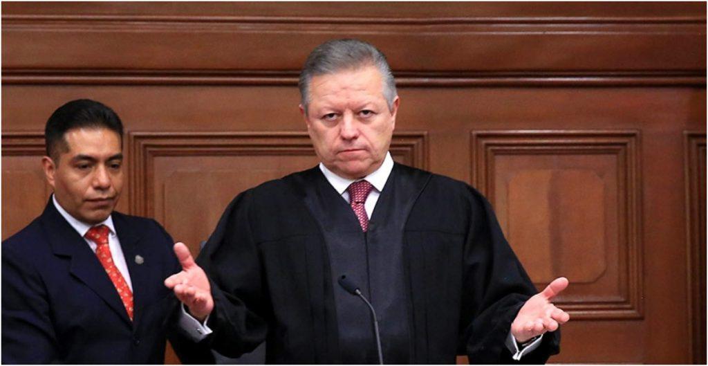 """""""Estoy seguro de que en breve estará superada esta crisis institucional"""", dice Zaldívar tras reunión con el magistrado Vargas"""