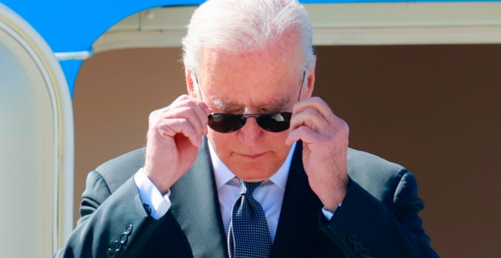 Joe Biden llega a Ginebra previo al encuentro que sostendrá con Putin