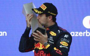 'Checo' Pérez lleva 69 puntos en el Mundial de Fórmula 1. (Foto: Reuters).