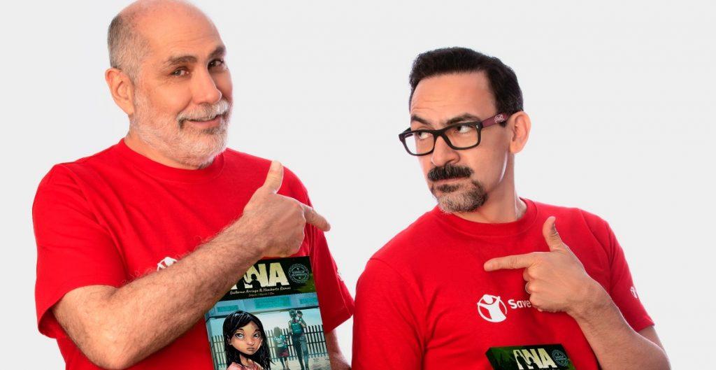 Guillermo Arriaga y Humberto Ramos crean cómic que busca sensibilizar sobre la migración infantil