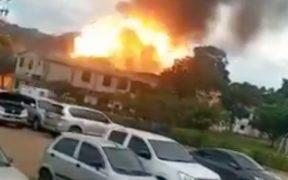 Explota un coche bomba en instalaciones del Ejército de Colombia