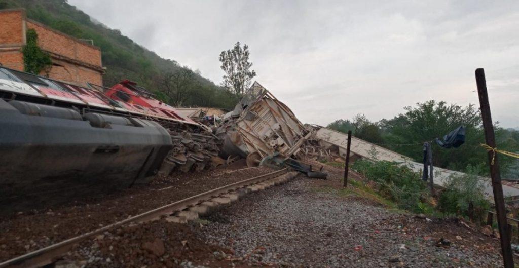 Descarrilamiento de tren en Jalisco dejó un muerto y tres heridos; SCT investigará el siniestro
