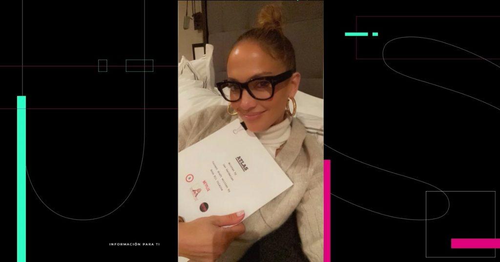 Jennifer Lopez prepara un thriller de ciencia ficción, 'Atlas'; el primer resultado de su acuerdo con Netflix