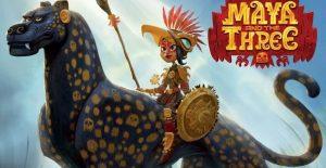 El mexicano Jorge R. Gutiérrez presenta las primeras imágenes de 'Maya and the Three', producido por Netflix