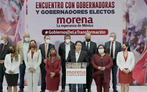 """Gobernadores electos de Morena buscan modificar la Conago para """"mejorar la relación con AMLO"""""""