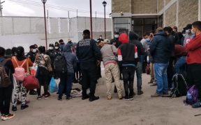 Rescatan en Ecatepec a 74 migrantes centroamericanos