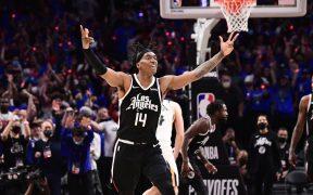 Los Clippers lograron un triunfo histórico frente a Jazz. (Foto: @NBA).