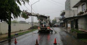 """Tormenta tropical """"Dolores"""" provoca más de 12 mil afectados sin luz, revela CFE"""