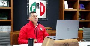 """Tras impugnación solitaria de Zamora en Sinaloa, Alejandro Moreno pide a comités estatales del PRI """"estar a lado de candidatos"""""""