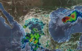 """""""Dolores"""" se degrada a depresión tropical; seguirán lluvias extraordinarias en Jalisco, Colima y Michoacán"""