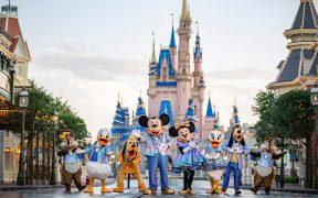 Walt Disney World planea una celebración de 18 meses por su 50 aniversario, a partir del 1 de octubre