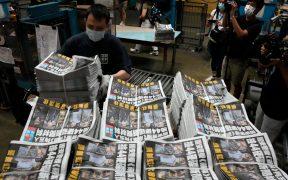 Cierra el Apple Daily, el último periódico prodemocrático de Hong Kong