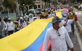 Muere joven en medio de manifestaciones contra el Gobierno en Bogotá