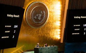 EU vota contra el llamado de la ONU para terminar con embargo contra Cuba