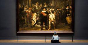 El Rijksmuseum reconstruye la versión original de 'Ronda de Noche' de Rembrandt con Inteligencia Artificial