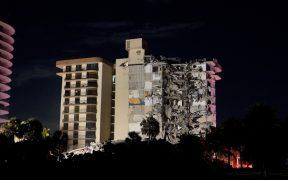 Colapsa condominio en Miami; reportan la muerte de una persona