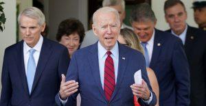 Biden anuncia acuerdo sobre plan de infraestructura tras reunión con senadores