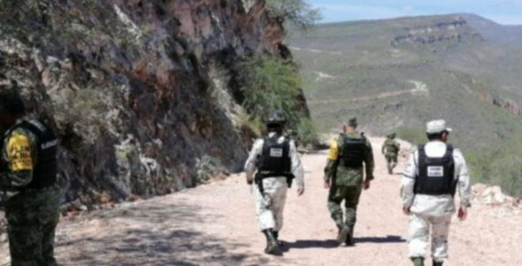Despliegan a agentes federales y estatales en Valparaíso, Zacatecas, tras enfrentamiento entre cárteles