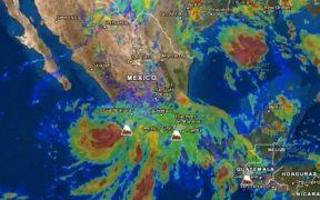 """Activan alerta naranja en zonas de Colima y Jalisco por peligro del huracán """"Enrique"""""""