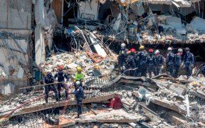 Nueve muertos y 152 desaparecidos por derrumbe de edificio en Miami; rescatistas israelíes y mexicanos trabajan en la zona