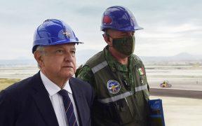 AMLO decreta expropiar 109 hectáreas para construir el aeropuerto de Santa Lucía