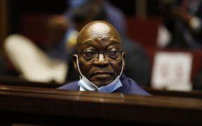 Corte condena a prisión al expresidente de Sudáfrica Jacob Zuma