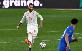 Sergio Ramos no fue a la Eurocopa y tampoco irá a los Juegos de Tokio. (Foto: EFE).