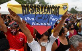 Gobierno de Colombia asegura que mantendrá abierto el diálogo por protestas, pero enfrentará vandalismo