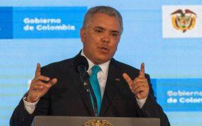 Iván Duque pide al congreso colombiano aprobar ley contra vandalismo en protestas