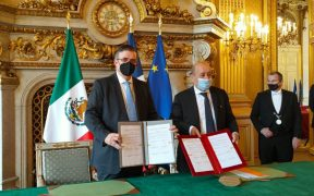 México y Francia firman acuerdo contra el tráfico de bienes culturales